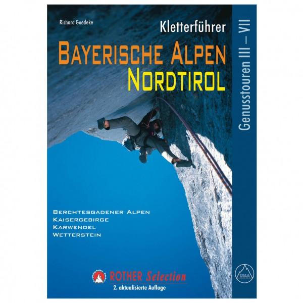 Bergverlag Rother - Bayerische Alpen - Kiipeilyoppaat