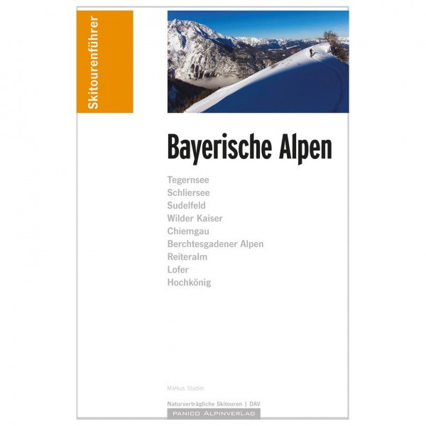 Panico Alpinverlag - Skitourenführer Bayerische Alpen - Toerskigids