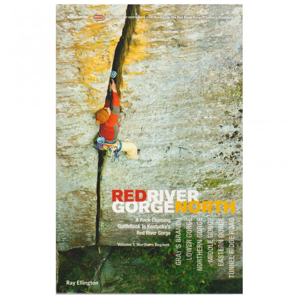 Wolverine Publishing Llc - Red River Gorge North - Climbing guide