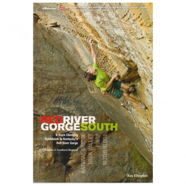 Wolverine Publishing - Red River Gorge South - Klimgidsen