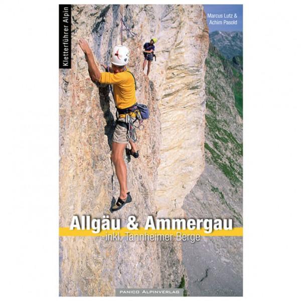 Panico Alpinverlag - Allgäu und Ammergau + Tannheimer Berge - Klätterförare