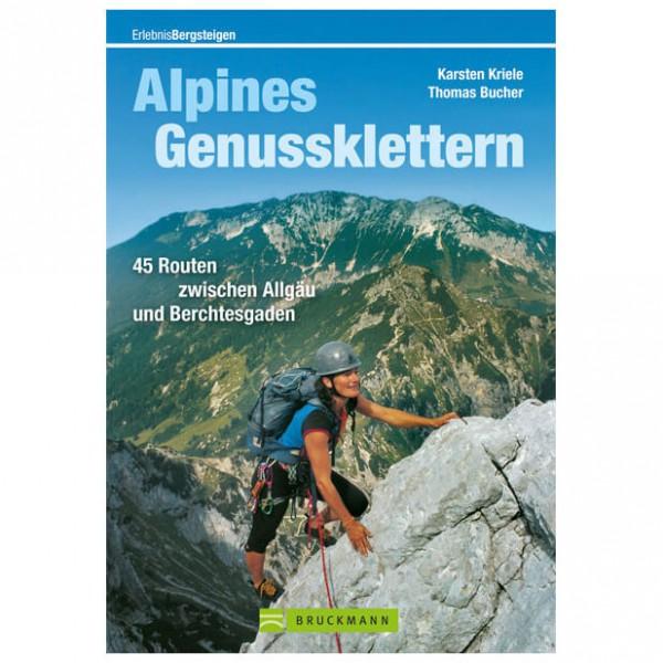 Bruckmann - Alpines Genussklettern - Kiipeilyoppaat