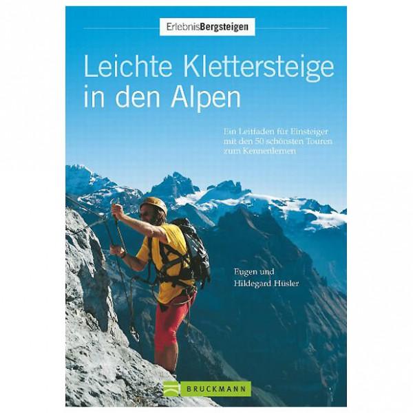 Bruckmann - Leichte Klettersteige in den Alpen - Via ferrata guide