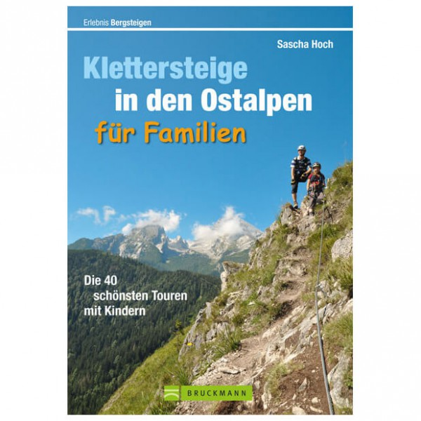 Bruckmann - Klettersteige in den Ostalpen für Familien - Via ferrata guide
