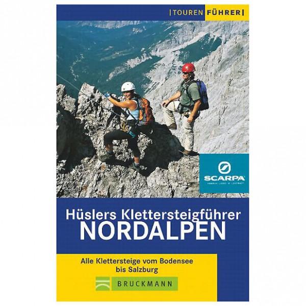Bruckmann - Hüslers Klettersteigführer Nordalpen - Via Ferrata förare