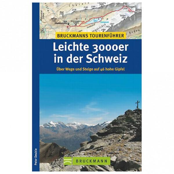 Bruckmann - Leichte 3000er in der Schweiz - Alpina klätterförare