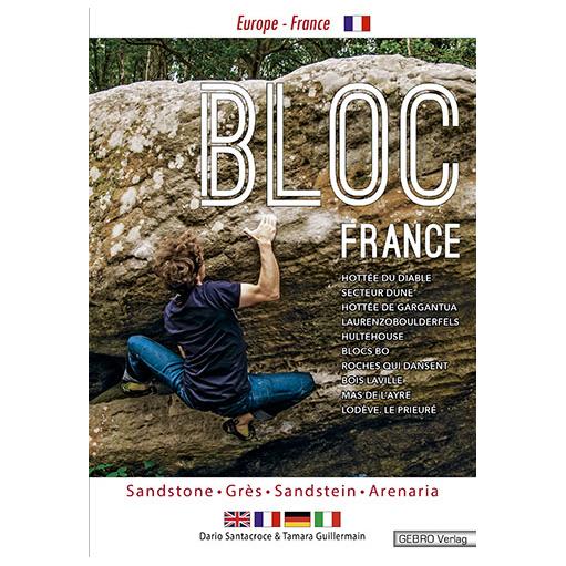 Gebro-Verlag - Bloc France - Boulderführer