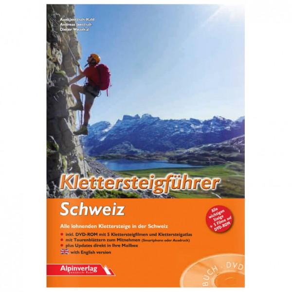 Alpinverlag - Klettersteigführer Schweiz - Via Ferrata förare
