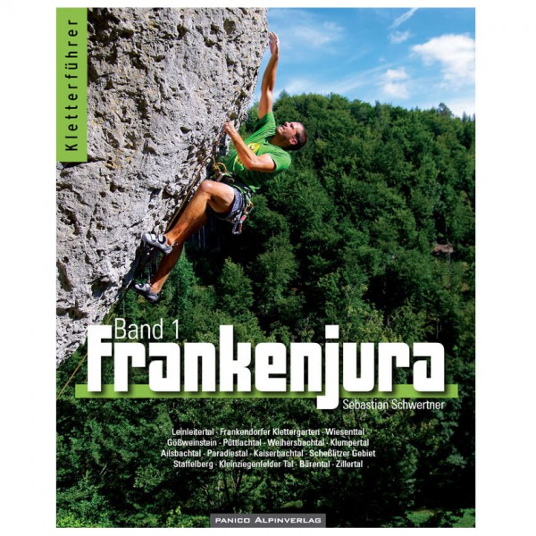 Panico Alpinverlag - Frankenjura Band 1 - Kiipeilyoppaat