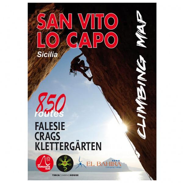 Versante Sud - San Vito Lo Capo Sicilia - Kletterkarte
