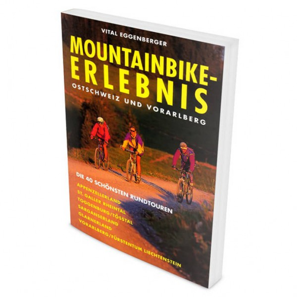 Climb & Bike Verlag - MTB Ostschweiz und Vorarlberg - Guide vélo