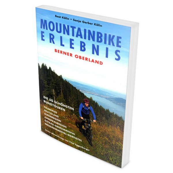 Climb & Bike Verlag - MTB Berner Oberland - Cycling guide