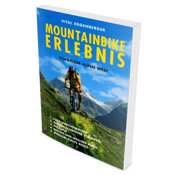 Climb & Bike Verlag - MTB Schweizer Alpen West - Cycling guide