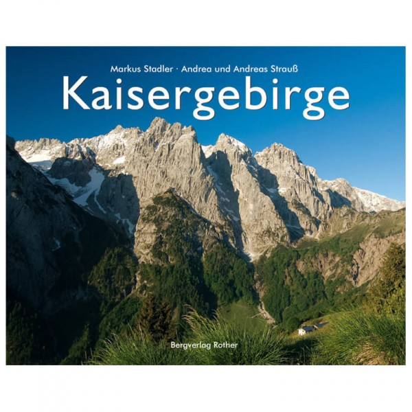 Bergverlag Rother - Kaisergebirge - Illustrerade böcker