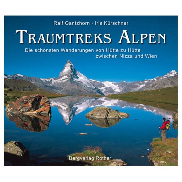 Bergverlag Rother - Traumtreks Alpen - Boek met foto's