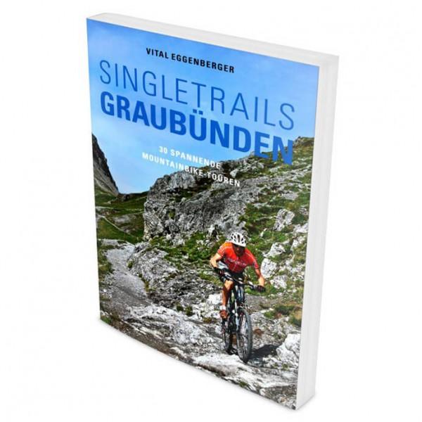 Climb & Bike Verlag MTB Singletrails Graubünden - Cykelguides køb online | Cycle maps