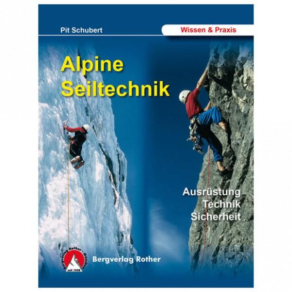 Bergverlag Rother - Alpine Seiltechnik - Lehrbuch