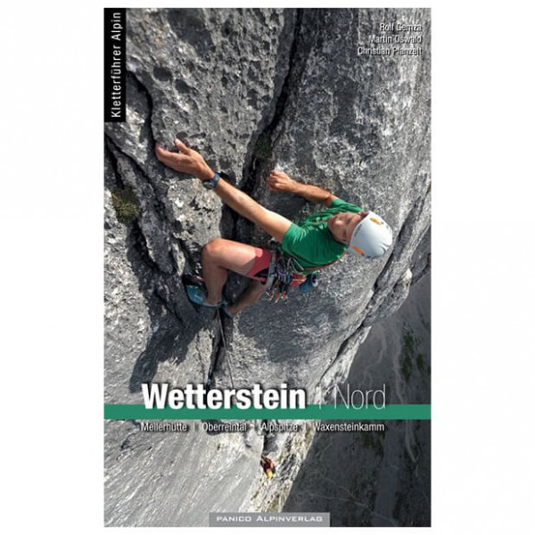 Panico Alpinverlag - Wetterstein Nord - Kletterführer