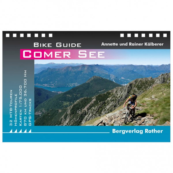 Bergverlag Rother - Comer See - Pyöräilyoppaat