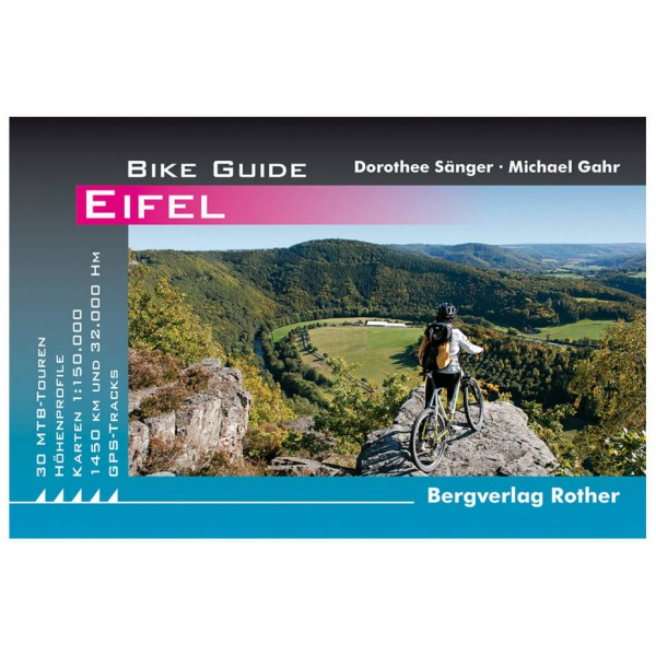 Bergverlag Rother Eifel - Cykelguides køb online | Cycle maps
