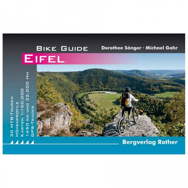 Bergverlag Rother - Eifel - Pyöräilyoppaat