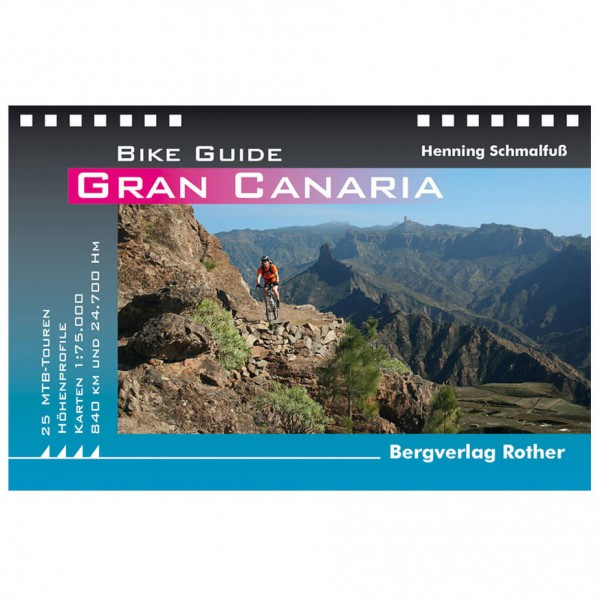 Bergverlag Rother - Gran Canaria - Cycling Guides