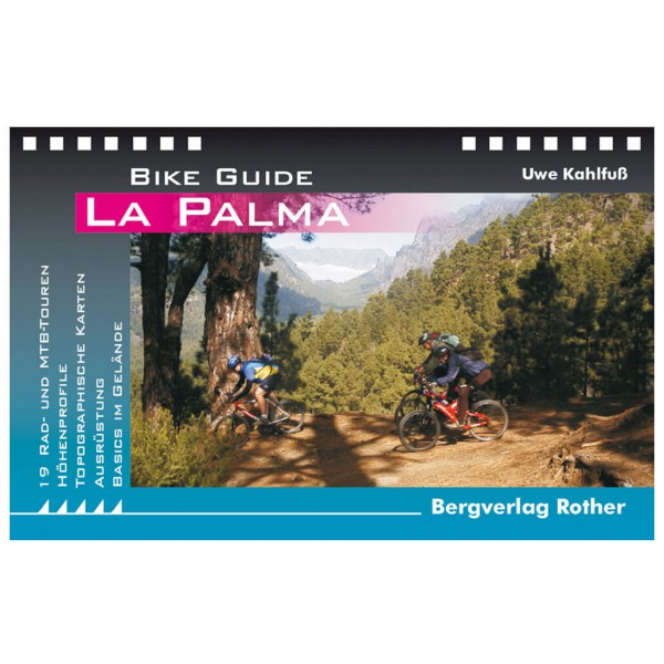 Bergverlag Rother - La Palma - Pyöräilyoppaat