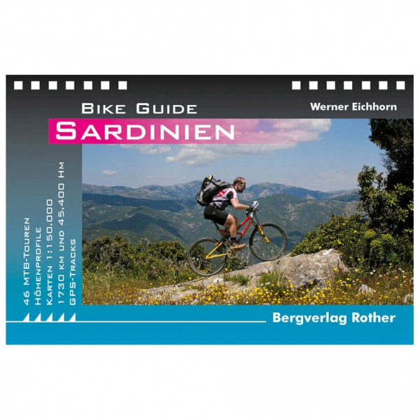 Bergverlag Rother - Sardinien - Guides cyclistes
