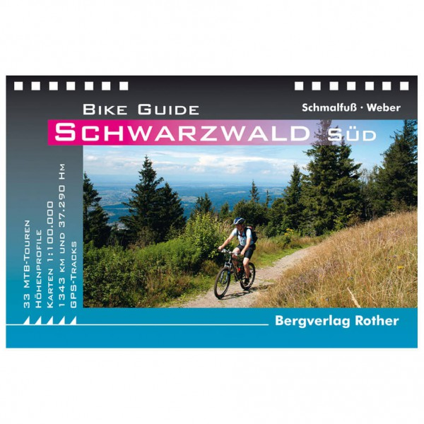 Bergverlag Rother - Schwarzwald Süd - Radführer