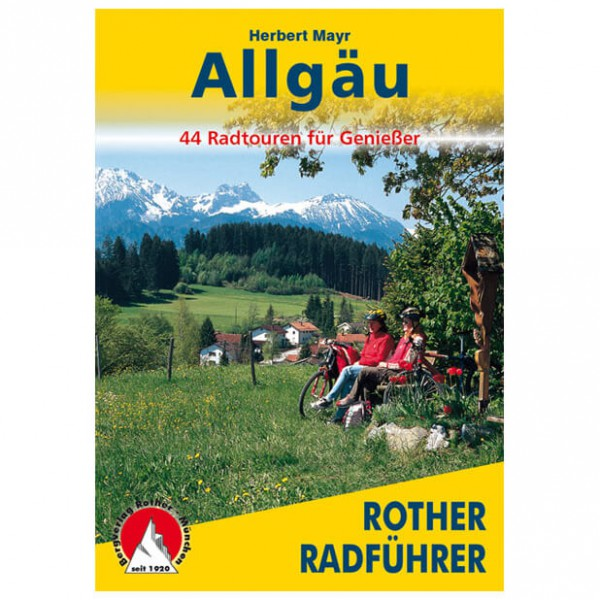 Bergverlag Rother - Allgäu - Guides cyclistes