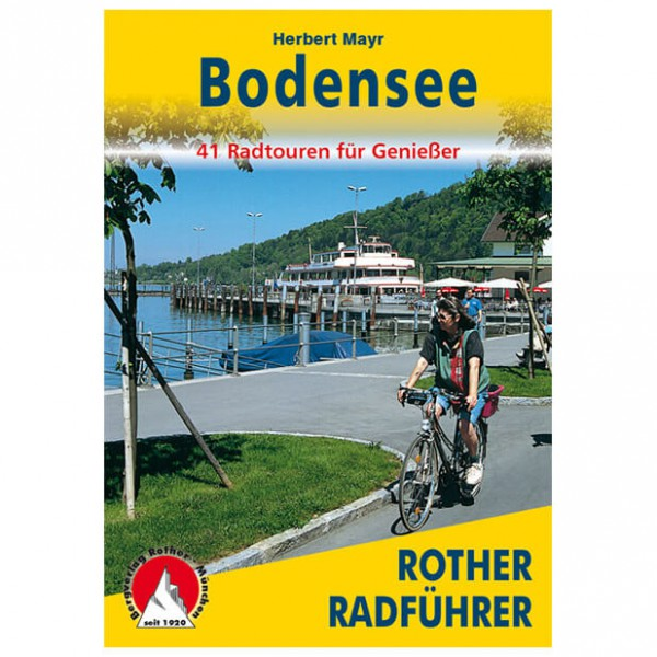 Bergverlag Rother - Bodensee - Cykelguides