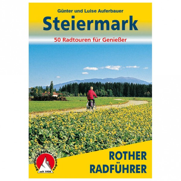 Bergverlag Rother - Steiermark - Guides cyclistes