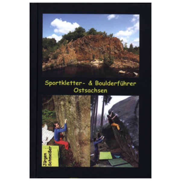 Geoquest-Verlag - Kletter- und Boulderführer Ostsachsen - Klatreguide