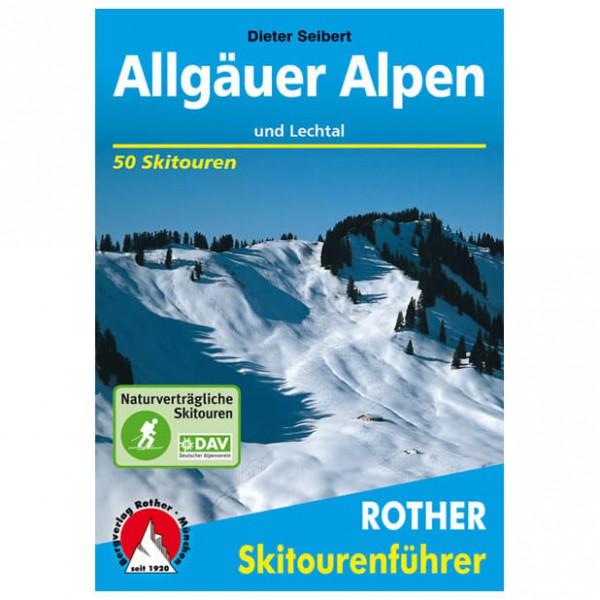 Bergverlag Rother - Allgäuer Alpen - Skitourgidsen