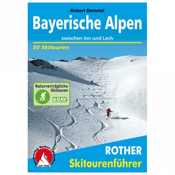 Bergverlag Rother - Bayerische Alpen - Skitourgidsen
