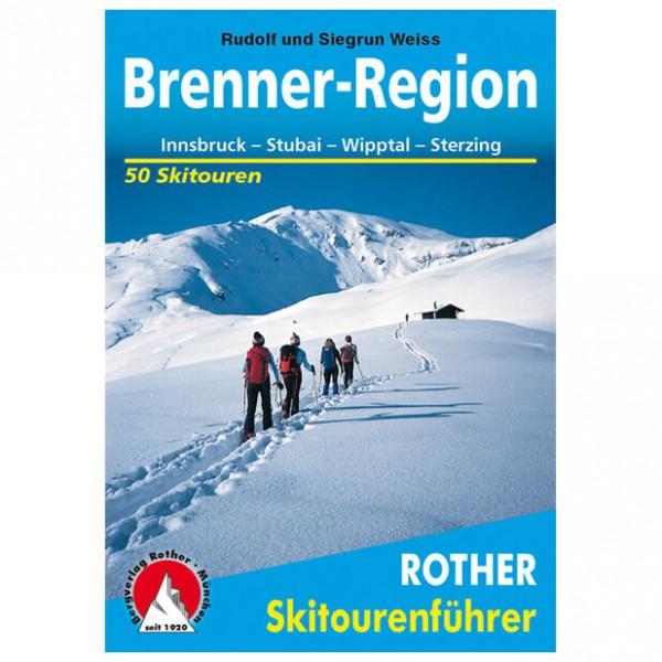 Bergverlag Rother - Brenner-Region - Ski tour guide