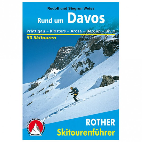 Bergverlag Rother - Davos - Skitourgidsen