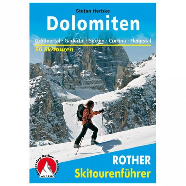 Bergverlag Rother - Dolomiten - Guides de randonnée à ski