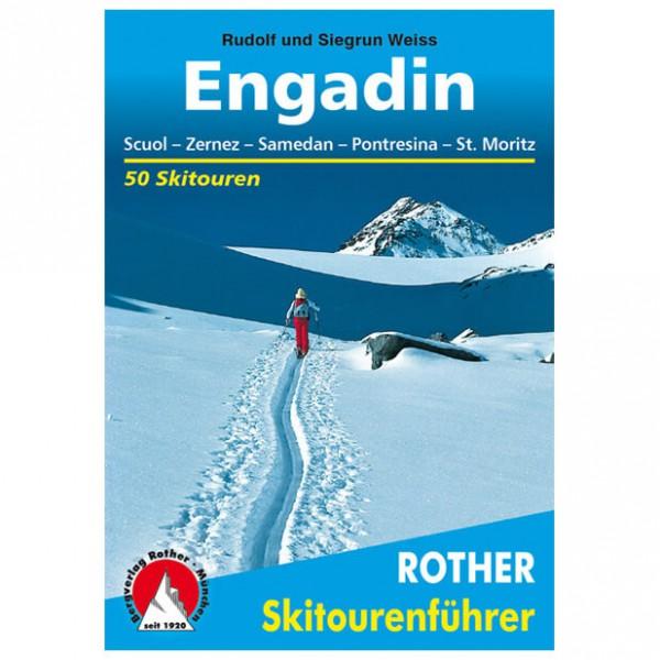 Bergverlag Rother - Engadin - Guides de randonnée à ski