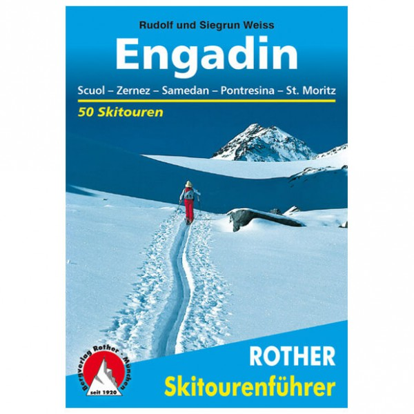 Bergverlag Rother - Engadin - Ski tour guides