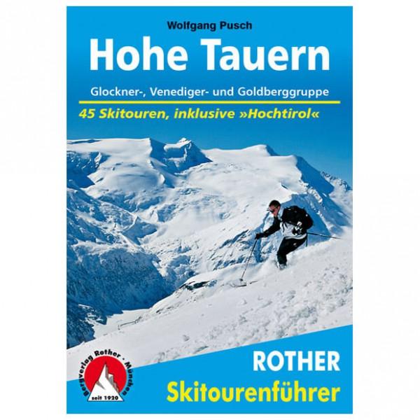 Bergverlag Rother - Hohe Tauern - Guides de randonnée à ski