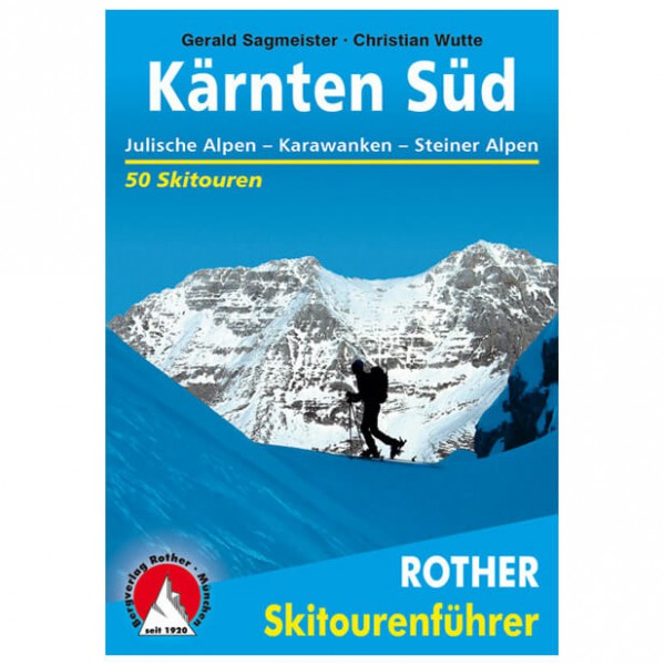 Bergverlag Rother - Kärnten Süd - Ski tour guides