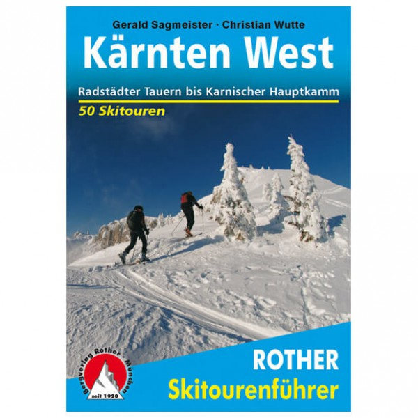 Bergverlag Rother - Kärnten West - Guides de randonnée à ski