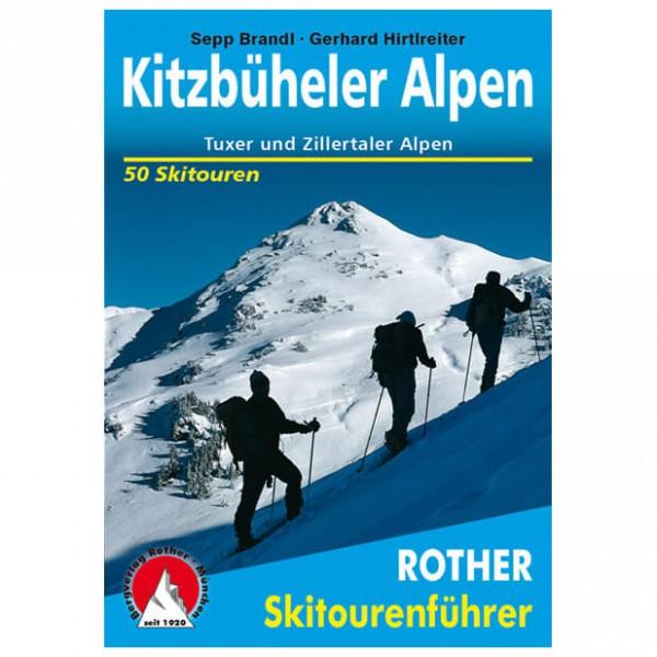 Bergverlag Rother - Kitzbüheler, Tuxer, Zillertaler Alpen - Skidtursguider