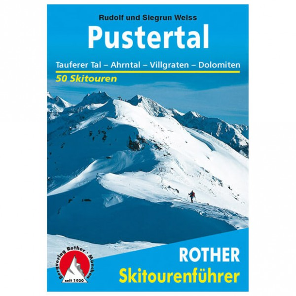 Bergverlag Rother - Pustertal - Toerskigids