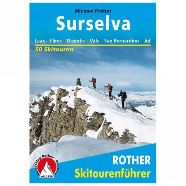 Bergverlag Rother - Surselva - Guides de randonnée à ski