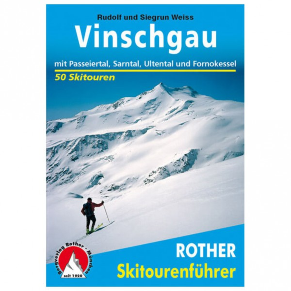 Bergverlag Rother - Vinschgau - Skitourgidsen