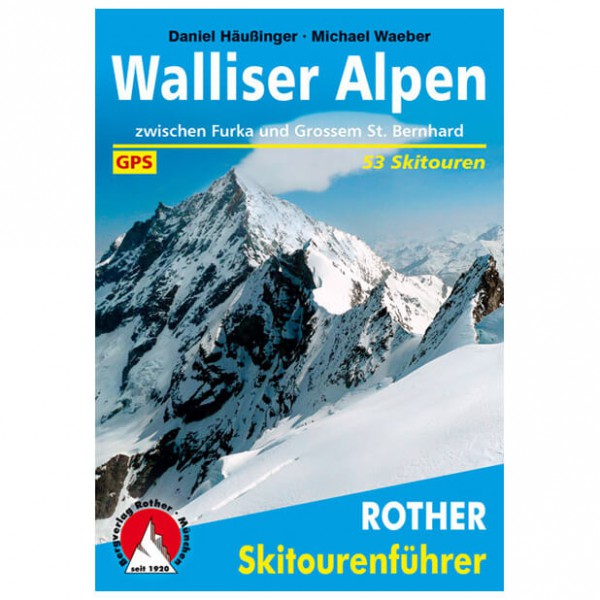 Bergverlag Rother - Walliser Alpen - Ski tour guides