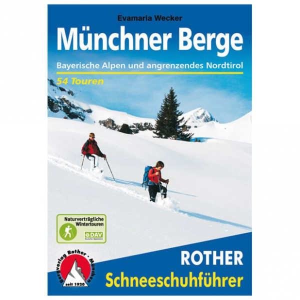 Bergverlag Rother - Münchner Berge - Lasketteluretkioppaat