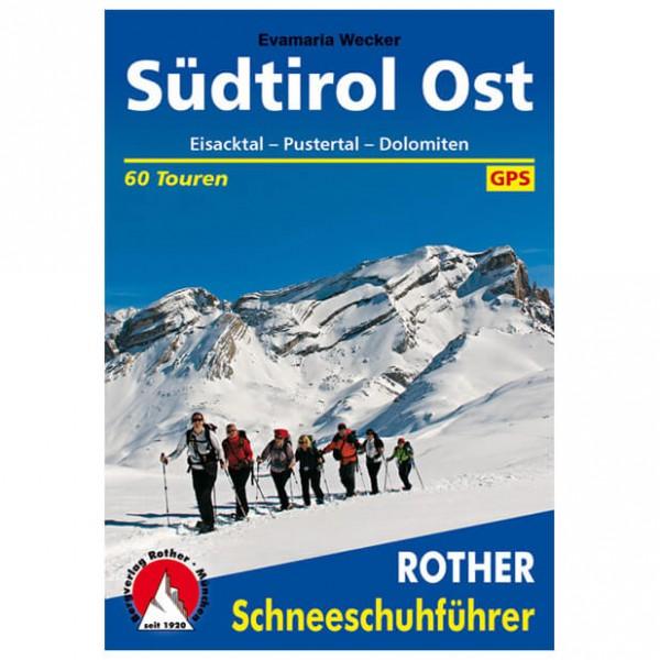 Bergverlag Rother - Südtirol Ost Eisack&Pustertal, Dolomiten - Guide allo sci alpinismo